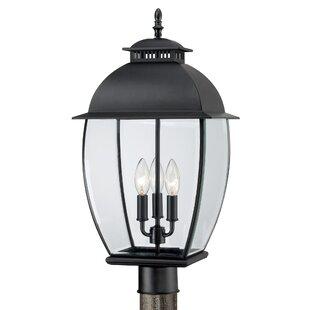 Three Posts Millbrook Outdoor 3-Light Traditional Lantern Head