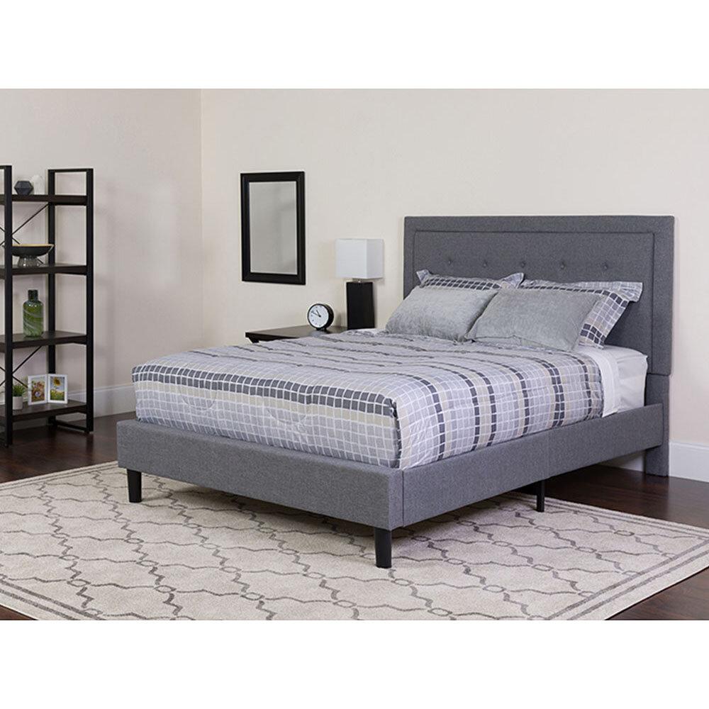 Winston Porter Dayanara Queen Upholstered Platform Bed Wayfair