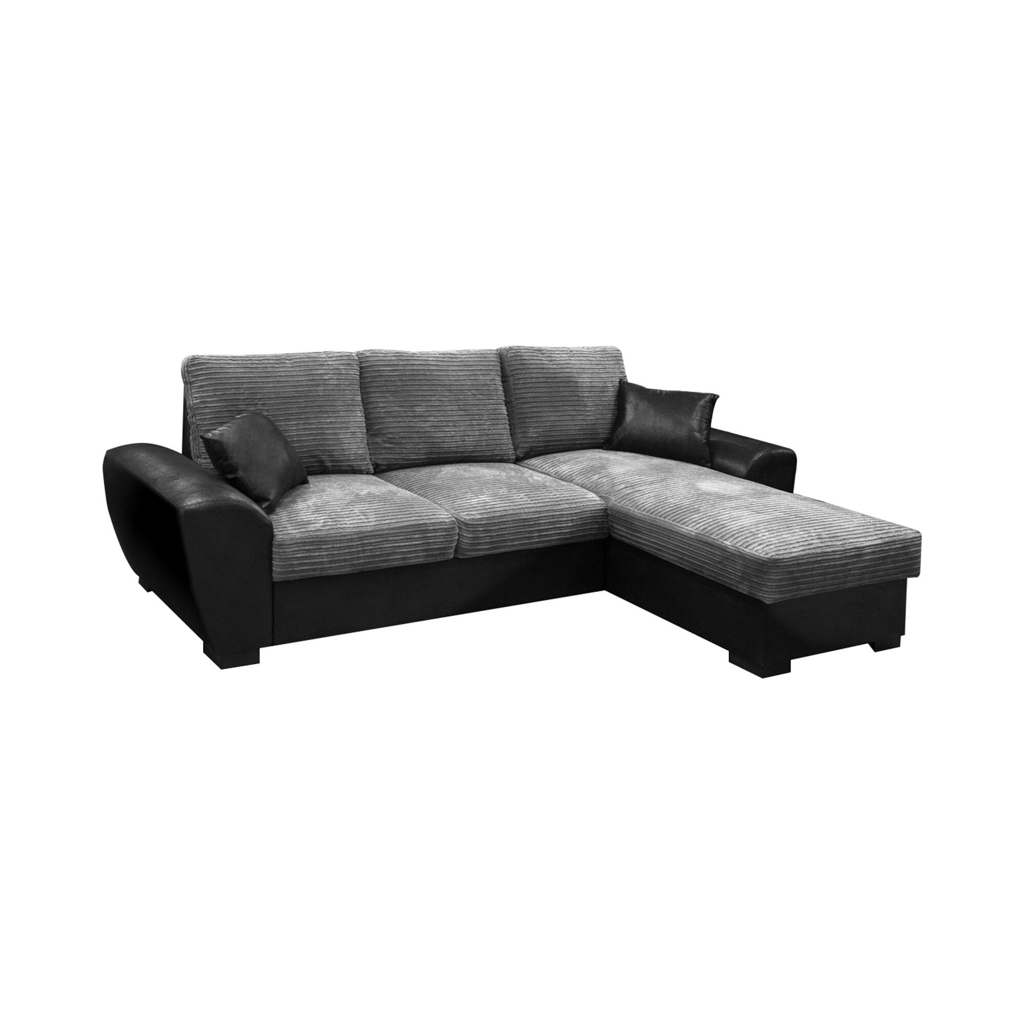 quality design ade0a 3720e Gianni Reversible Sleeper Corner Sofa Bed