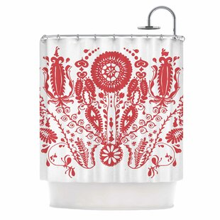 'Flower' Single Shower Curtain