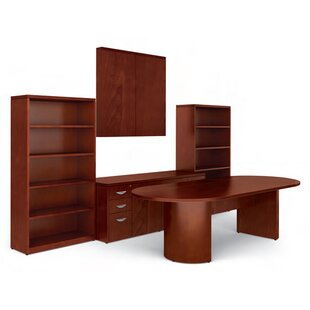 Ventnor Standard Desk Office Suite by Offices To Go Cool