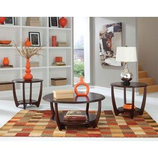Wade Logan Ophelia 3 Piece Coffee Table Set