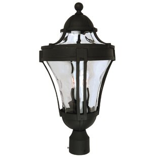 Oakhill 3 Light Outdoor Post Lantern by Charlton Home