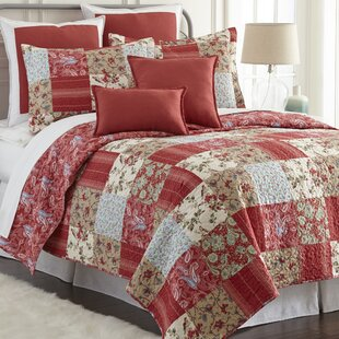 Shumaker Printed Cotton Single Reversible Quilt Set