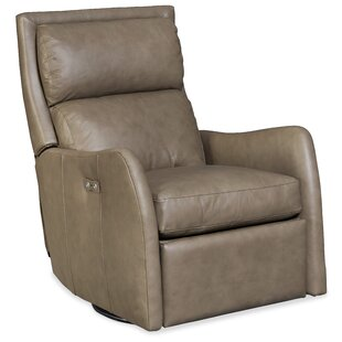Bash Leather Power Swivel Recliner