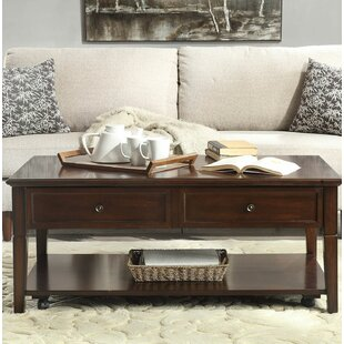 Huckins Lift Top Coffee Table by Charlton Home