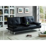 Rayna 71 Recessed Arm Sofa Bed by Orren Ellis