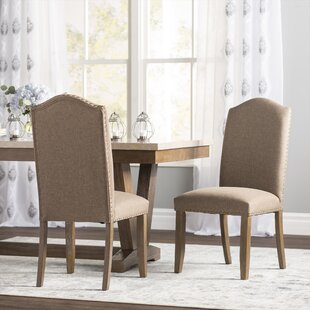 Lark Manor Bellegarde Parsons Chair (Set of 2)