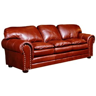 Torre Leather Sofa by Omni..
