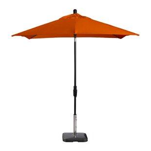 Wiebe Auto Tilt 7.5' Square Market Sunbrella Umbrella by Breakwater Bay