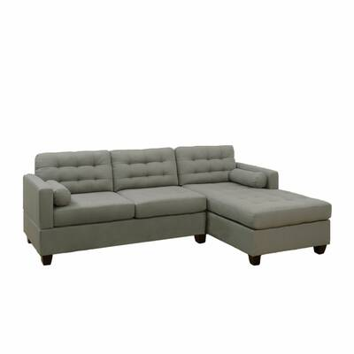 Red Barrel Studio Cleona Left Hand Facing Leather Sleeper Sectional Wayfair