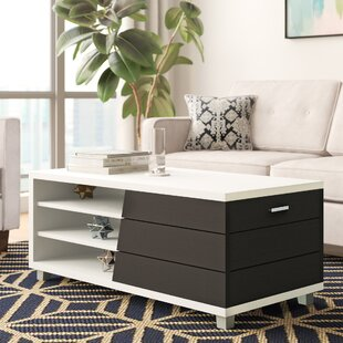 Budget Pellegrini Contemporary Coffee Table by Brayden Studio Reviews (2019) & Buyer's Guide