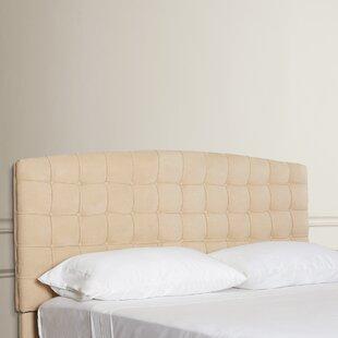 Reviews Malvern King Upholstered Panel Headboard by Alcott Hill