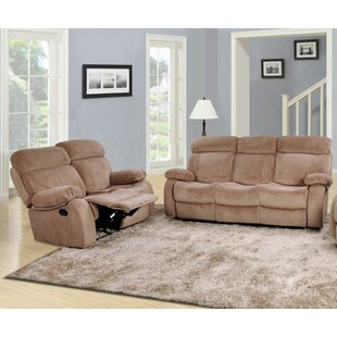 Beverly Fine Furniture Percy Reclining 2 Piece Living Room Set