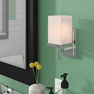 Steiger 1-Light Bath Sconce by Orren Ellis