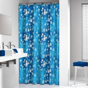 Starry Single Shower Curtain