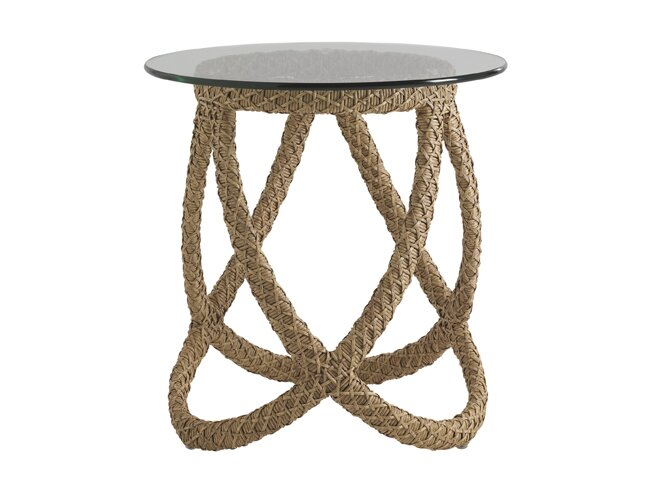Aviano Wicker Rattan Side Table