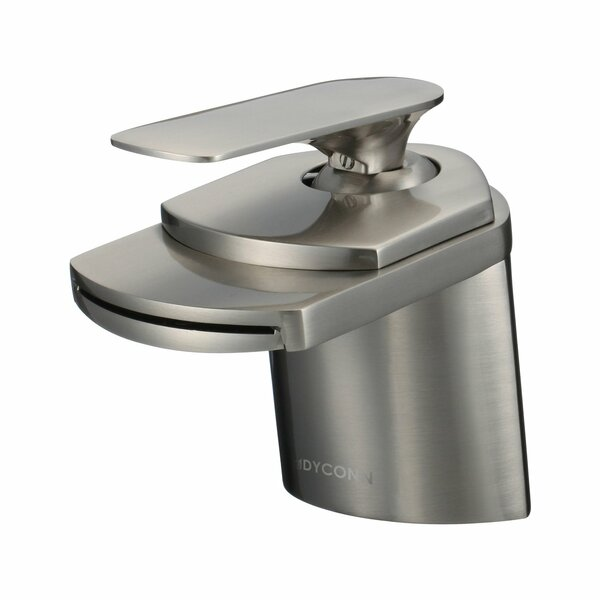 Dyconn Faucet Waterfall Single Hole Handle Bathroom Faucet ...