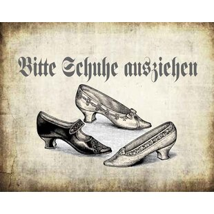 Bitte Schuhe Ausziehen vintage boulevard bitte schuhe ausziehen wayfair co uk