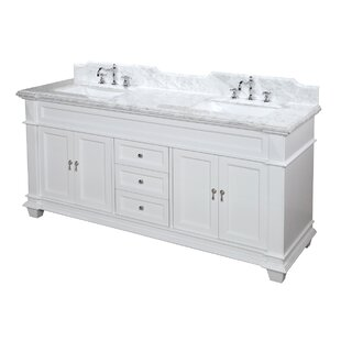 Elizabeth 72 Double Bathroom Vanity Set by Kitchen Bath Collection
