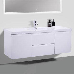 Lina 59 inch  Single Bathroom Vanity Set