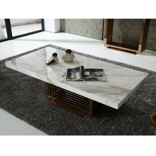 Clermont Contemporary Coffee Table by Everly Quinn