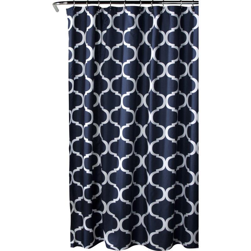 Alcott Hill  Dauberville Single Shower Curtain
