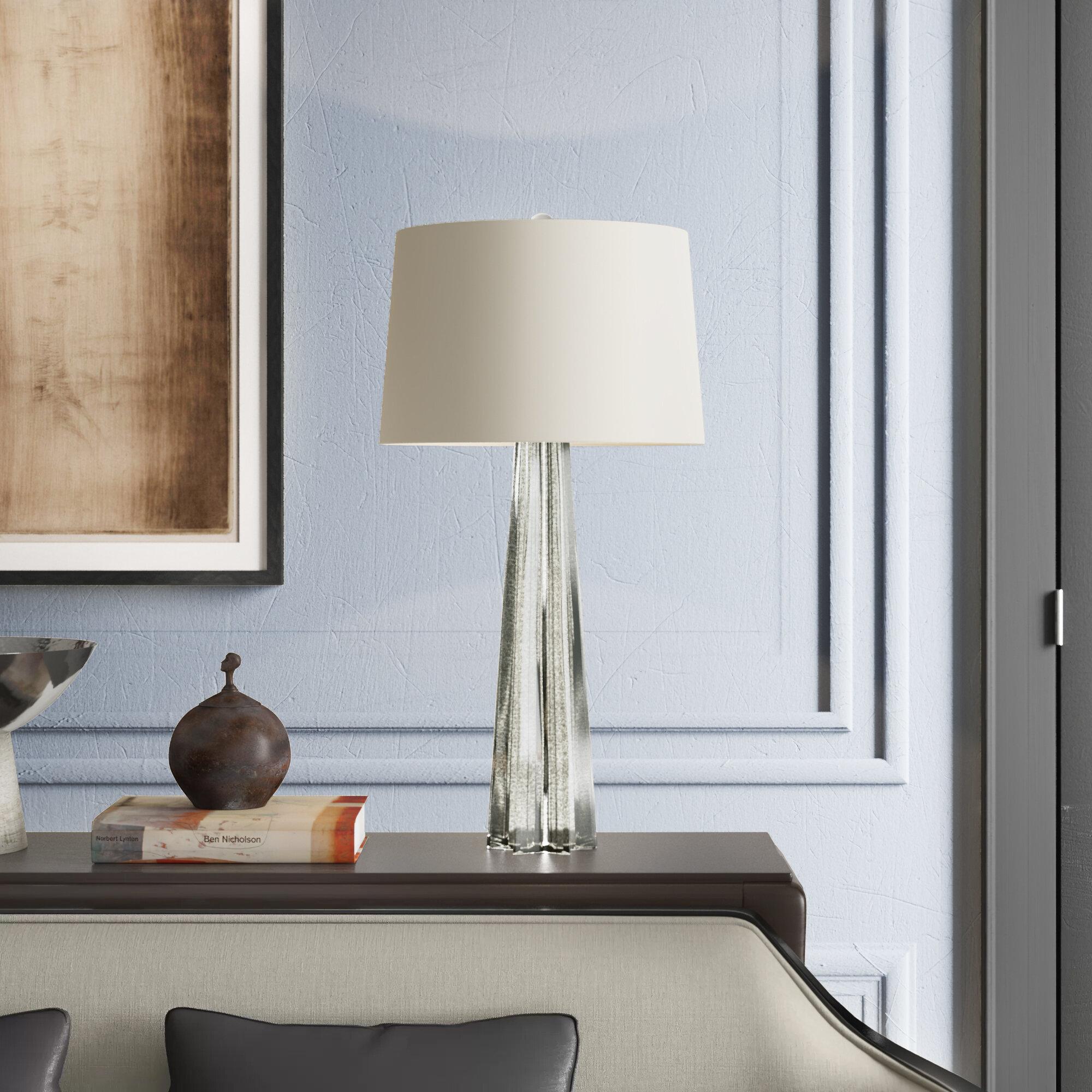 Image of: Reginaandrew Glass Star Antique Mercury 32 5 Table Lamp Perigold