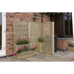 Adaline 2 Piece Rectangular Tier Planter Set