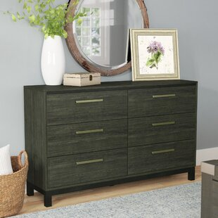 Coupon Adam 6 Drawers Double Dresser by Laurel Foundry Modern Farmhouse