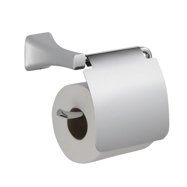 Wall Mounted Toilet Paper Holder delta tesla® wall mounted toilet paper holder with removable cover