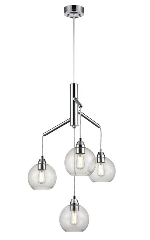 Pevensey 4 Light Unique Tiered Chandelier By Ivy Bronx Order With Us