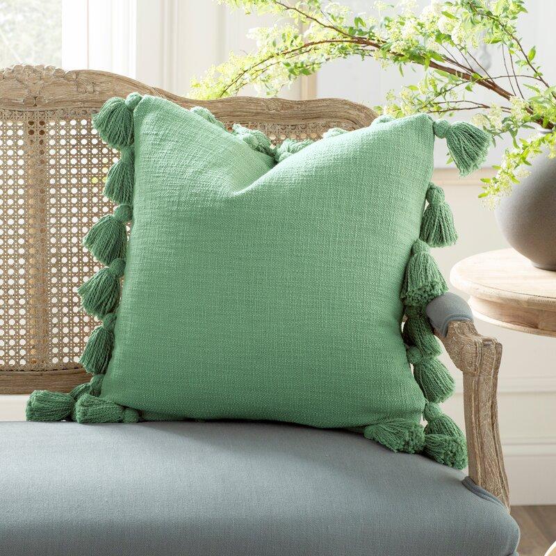Interlude Luxurious Cotton Throw Pillow