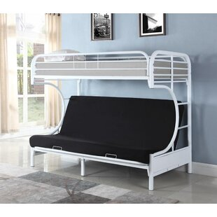 Rafe Twin Over Full Futon Bunk Bed by Zoomie Kids