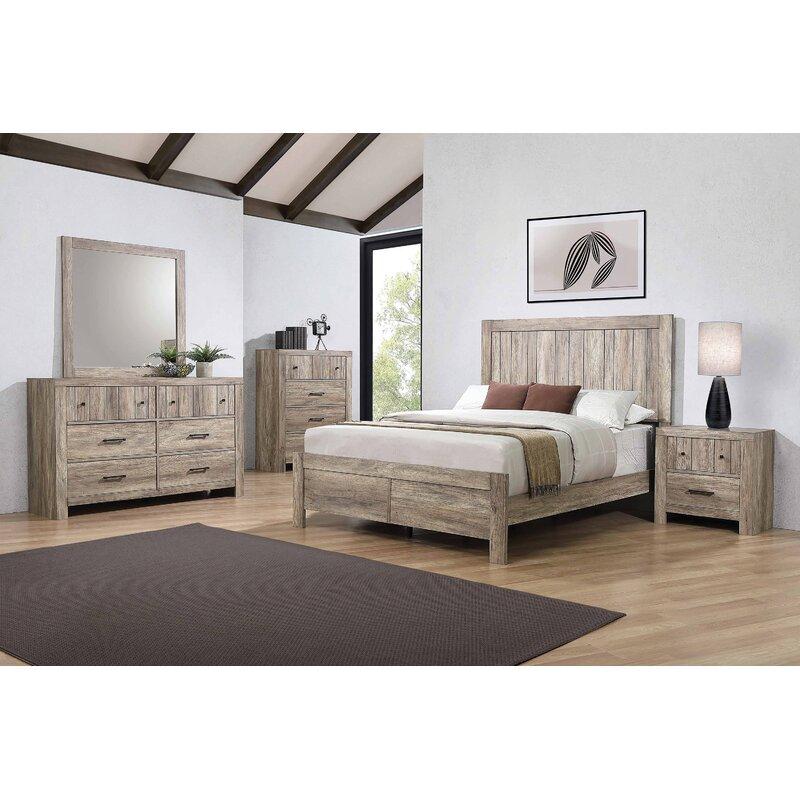 Loon Peak Tereza Standard Configurable Bedroom Set Wayfair