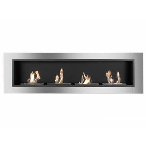 Ignis Products Accalia Wall Mount Ethanol Fireplace