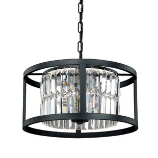 Vaxcel Catana 3-Light Drum Chandelier