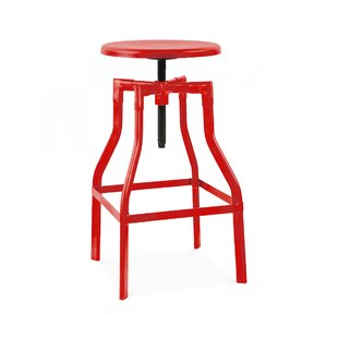 Machinist Adjustable Height Swivel Bar Stool Design Lab MN