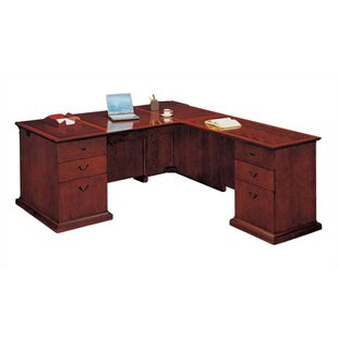 Del Mar L-Shape Executive Desk