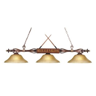 Huguenot 3-Light Billiard Light By Latitude Run