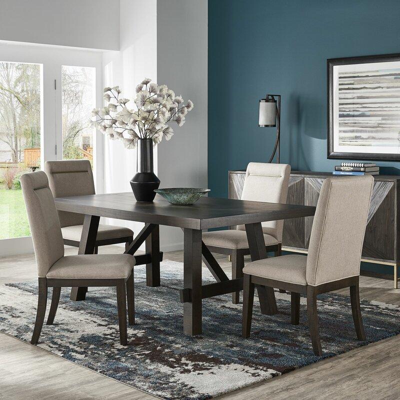 gracie oaks labbe 5 piece dining table set  reviews  wayfair