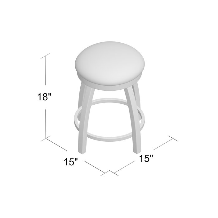 Excellent Cragin Swivel Vanity Stool Short Links Chair Design For Home Short Linksinfo