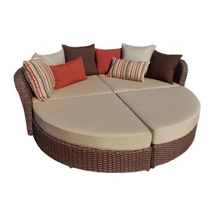 Darby Home Co Broadbent Chaise Lounge with Cushion