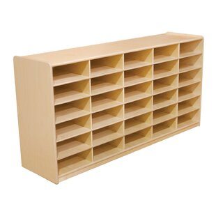 Shop For 30 Compartment Cubby By Wood Designs
