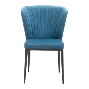 Everly Quinn Colne Upholstered Dining Chair (Set of 2)