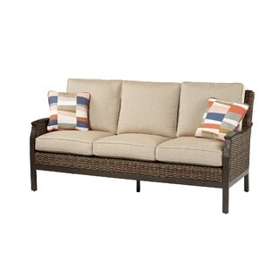 Bedard Patio Sofa with Sunbrella Cushions by Darby Home Co
