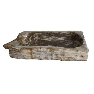 Order Natural Petrified Stone Specialty Vessel Bathroom Sink By Eden Bath