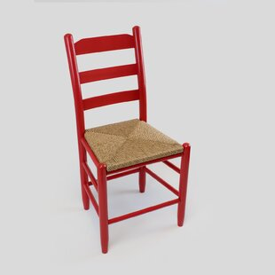 Pellerin Ladder Back Solid Wood Dining Chair Gracie Oaks