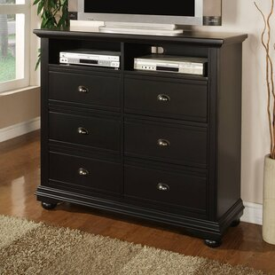 Alcott Hill Herren 6 Drawer Media Chest