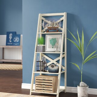 Alfred Ladder Bookcase by Beachcrest Home SKU:ED133724 Description